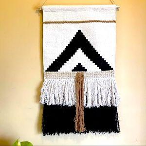 Hand woven macrame wall decor 🖤